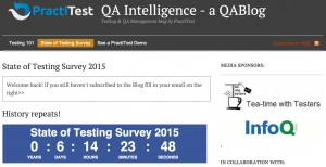 State of Testing Survey 2015