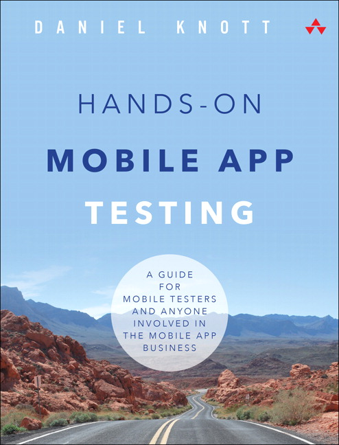 Hands-On Mobile App Testing Cover - Adventures in QA
