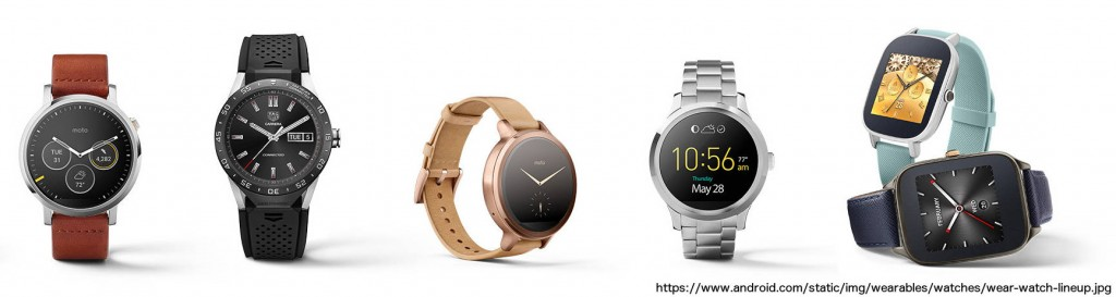 Android Wear Watch Lineup - Adventures in QA