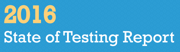 State of Testing Report 2016 - Adventures in QA