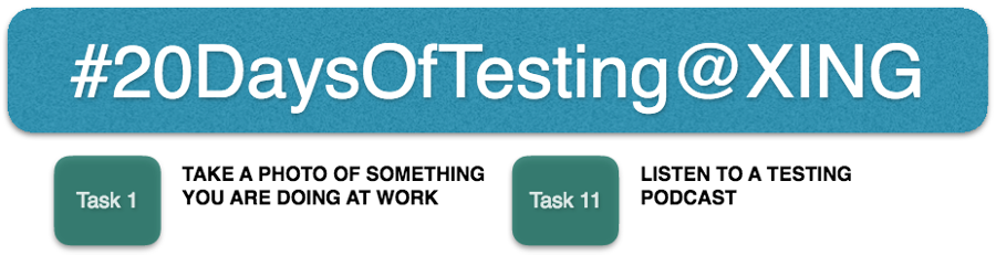 20 days of testing at XING - Adventures in QA