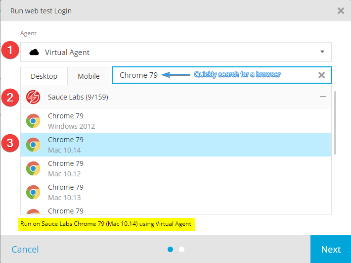 TestProject Select Virtual Agent - Adventures in QA